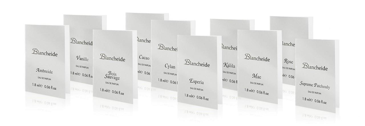 Set 11 Campioncini Blancheide EDP da 1,8 ml Blancheide BLASET000-05